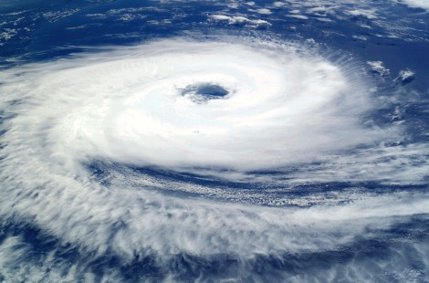 """""""Cyclone Catarina from the ISS on March 26 2004"""" by Astronaut photograph ISS008-E-19646 was taken March 7, 2004, with a Kodak DCS760 digital camera equipped with an 50-mm lens, and is provided by the Earth Observations Laboratory, Johnson Space Center. - NASAThis is a retouched picture, which means that it has been digitally altered from its original version. Modifications: Increased contrast; decreased brightness; adjusted color balance in favor of blues and whites; removed large black splotches in several locations. Modifications made by Tomf688.. Licensed under Public Domain via Wikimedia Commons - https://commons.wikimedia.org/wiki/File:Cyclone_Catarina_from_the_ISS_on_March_26_2004.JPG#/media/File:Cyclone_Catarina_from_the_ISS_on_March_26_2004.JPG"""